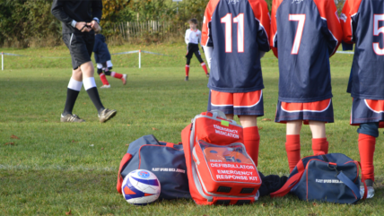 National initiative with the BHF and The FA launched to install lifesaving defibrillators at grassroots and amateur football clubs in England.